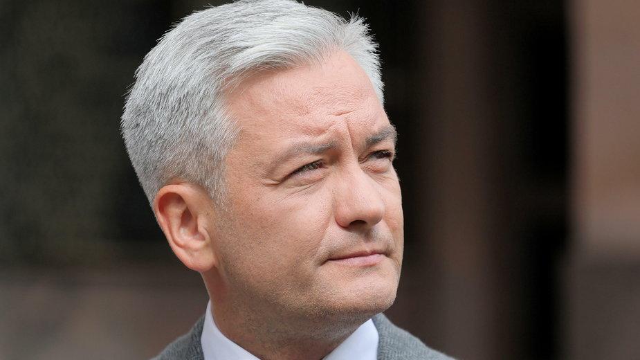 Europoseł Lewicy Robert Biedroń