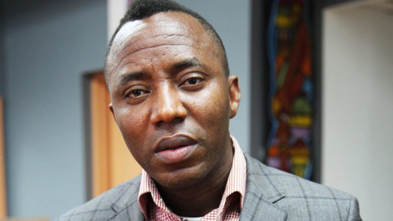 Omoyele Sowore had earlier resolved to go on hunger strike as DSS allegedly refused to release hum despite court order. (Sahara Reporters)