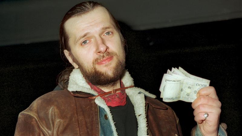 Ryszard Riedel z Dżemu w 1993 roku