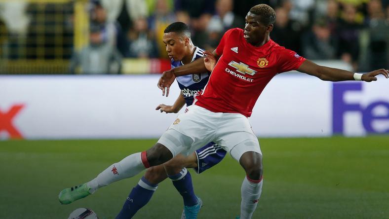 RSC Anderlecht - Manchester United
