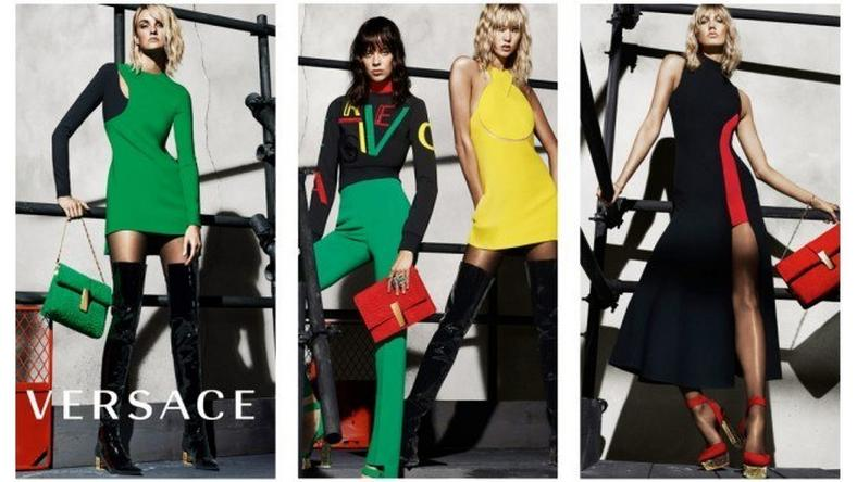 Versace Fall/Winter 2015 ad campaign