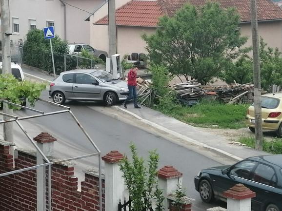Saobraćajne nezgode u Ulici Stevana Sinđelića