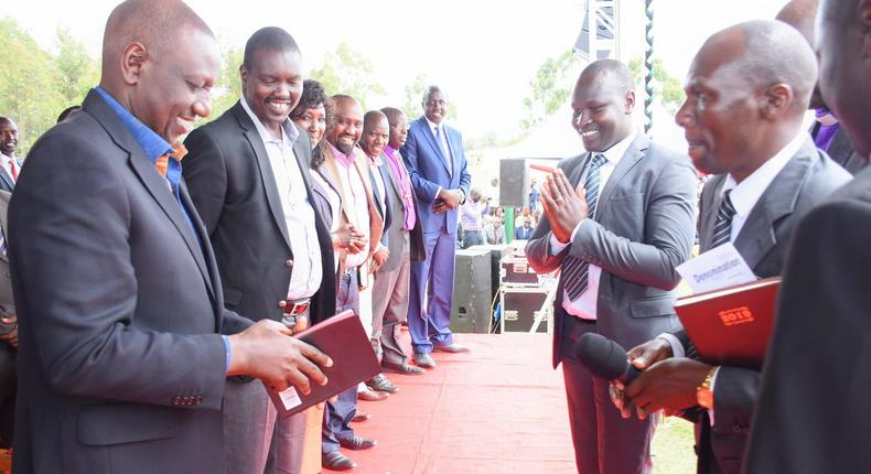 Angry DP Ruto quotes the Bible while condemning Daily Nation over controversial story