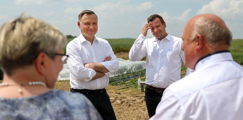 """Prezydent odwiedził Bardowskich z """"Rolnik szuka żony"""". Oberwało im się"""