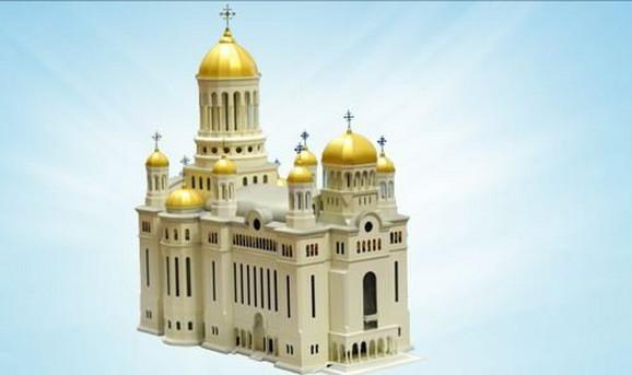 Budući izgled katedrale u Bukureštu (FOTO: catedralaneamului.ro)