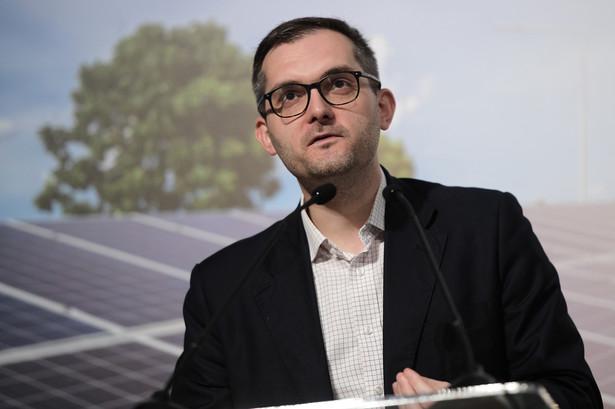 Wiceminister przedsiębiorczości i technologii Marek Niedużak