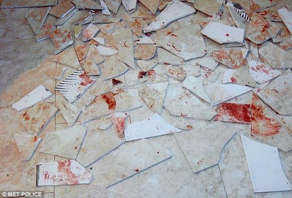 Prizor u stanu na koji je naišla britanska policija