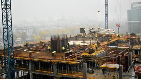 Produkcja przemysłowa w Polsce wzrosła o 9 proc. r/r. Świetnie poradziła sobie budowlanka.