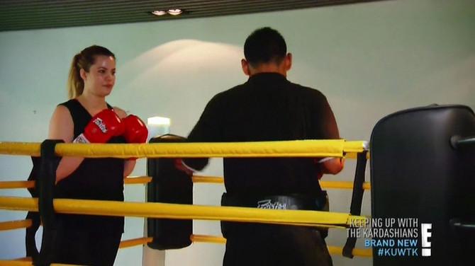 Kloi Kardašijan je priznala da je smršala pomoću boksa