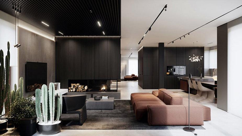 Eleganckie wnętrza domu w Warszawie
