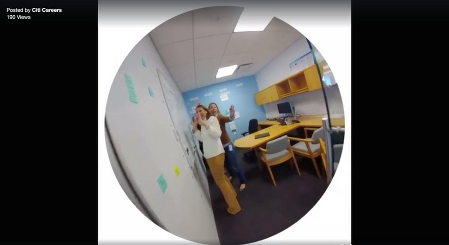 Tak wygląda praca w Citi z kamery Spectacles