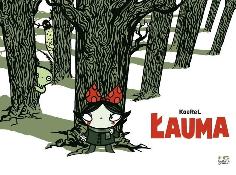 """""""Łauma"""" - scenariusz, ilustracje: Karol """"KRL"""" Kalinowski (wyd. Kultura Gniewu)"""