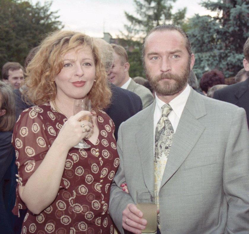 Magda Gessler i Piotr Gessler