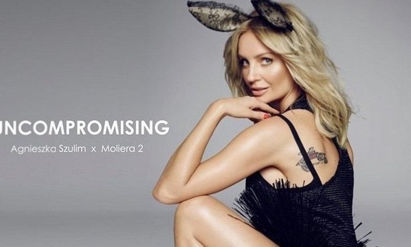 Agnieszka Szulim jako króliczek Playboya