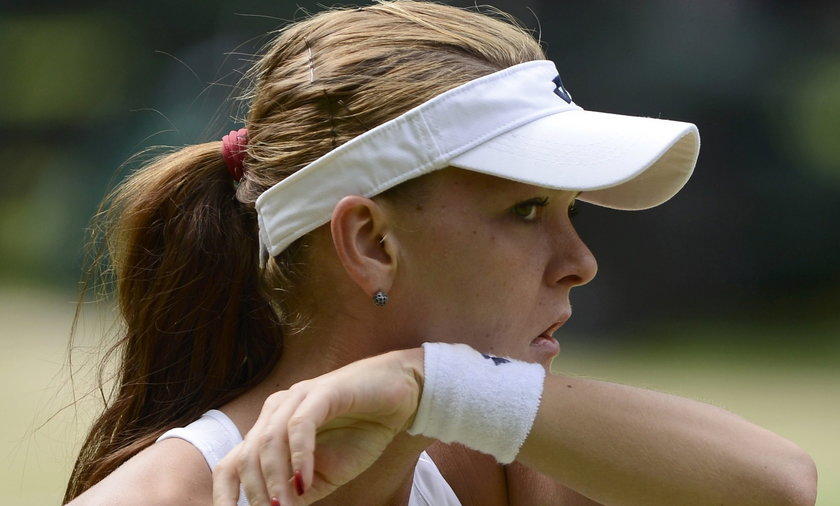 Isia odchoruje Wimbledon