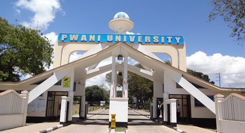 Entrance to Pwani University