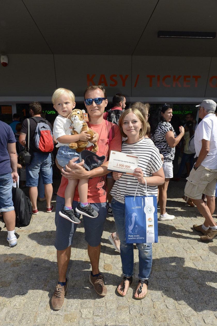 Milionowy odwiedzający we wrocławskim zoo