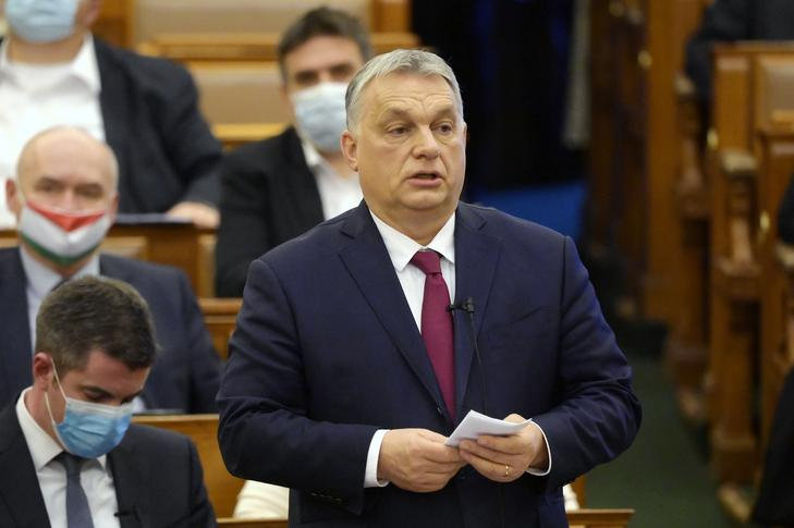 Orbán Viktor szerint előbb Simicska, majd Gyurcsány vásárolta meg a Jobbikot / Fotó: MTI Koszticsák Szilárd