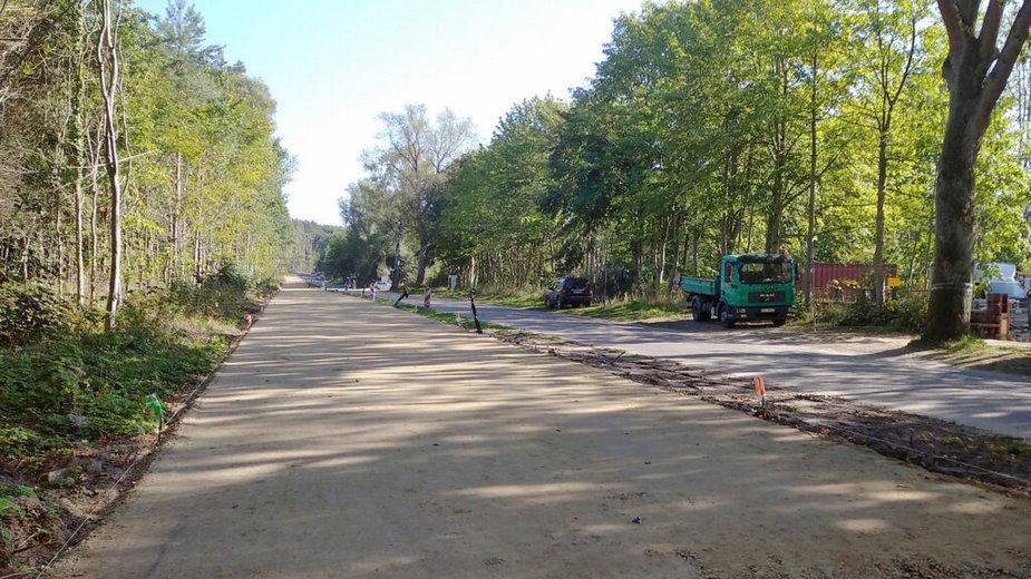 Budowa ścieżek rowerowych w Gminie Rewal