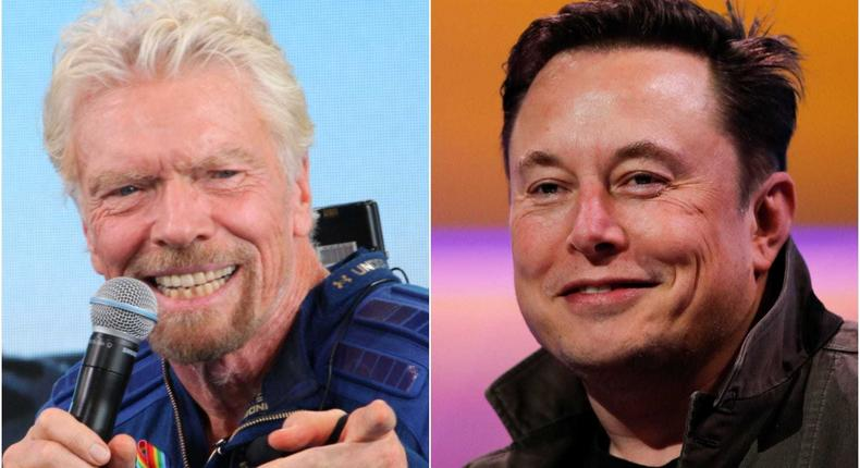 Richard Branson said Elon Musk is a friend.
