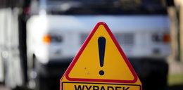 Wypadek na Emilii Plater. 5-latka trafiła do szpitala