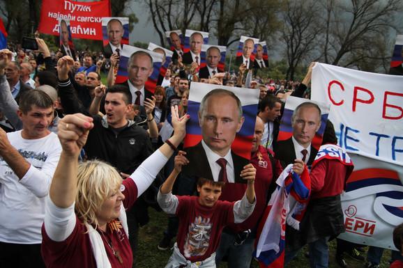 Srbija se retko pojavljuje na ruskim televizijama
