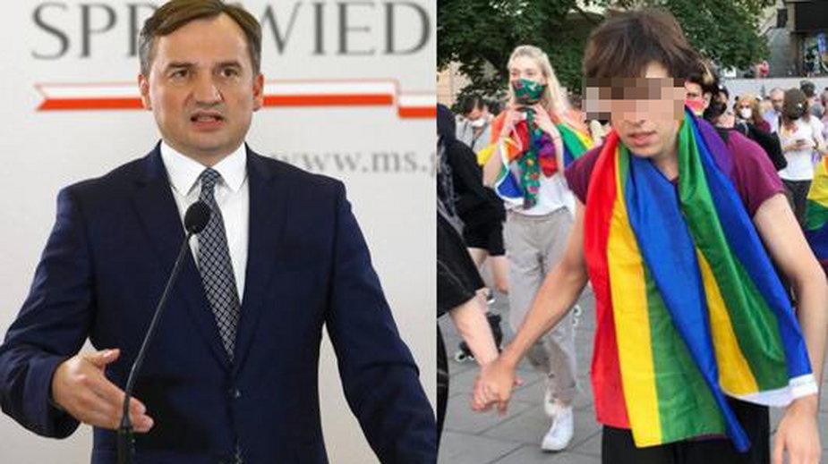 Zbigniew Ziobro i Margot