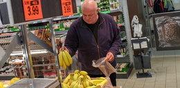 Skromne urodziny Ryszarda Rynkowskiego – winko i banany