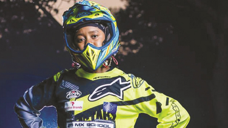 15-year-old biker Tanyaradzwa 'Tanya' Muzinda is a remarkable teenager from Zimbabwe making waves in the world of motocross (chronicle)