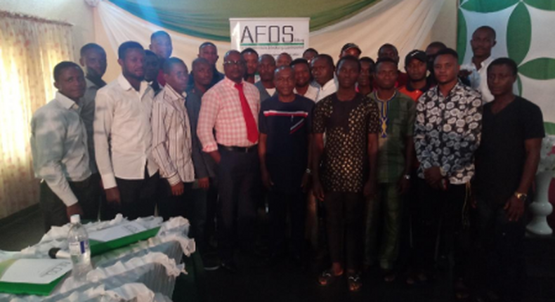 Participants of Agricultural Training