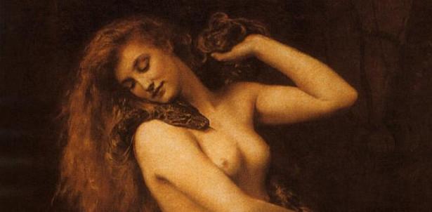 """Biblijna Ewa według Johna Colliera – """"Lilith"""" (1892)"""