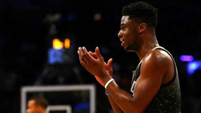 Denver Nuggets' Emmanuel Mudiay was ruled to have touched the ball before it went out of bounds during a game earlier this month against the Memphis Grizzlies