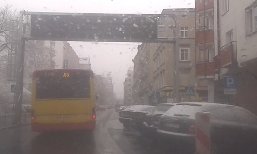 Wrocław. Pierwszy atak zimy