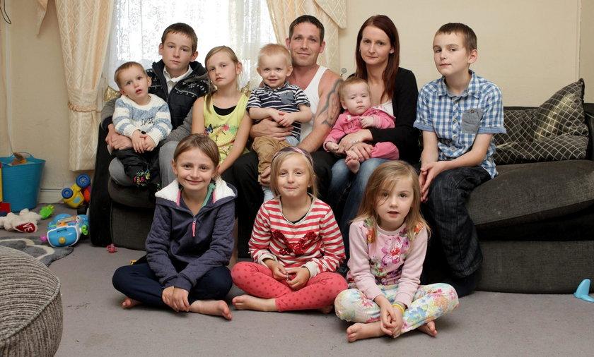 Cheryl Prudham ma 12 dzieci