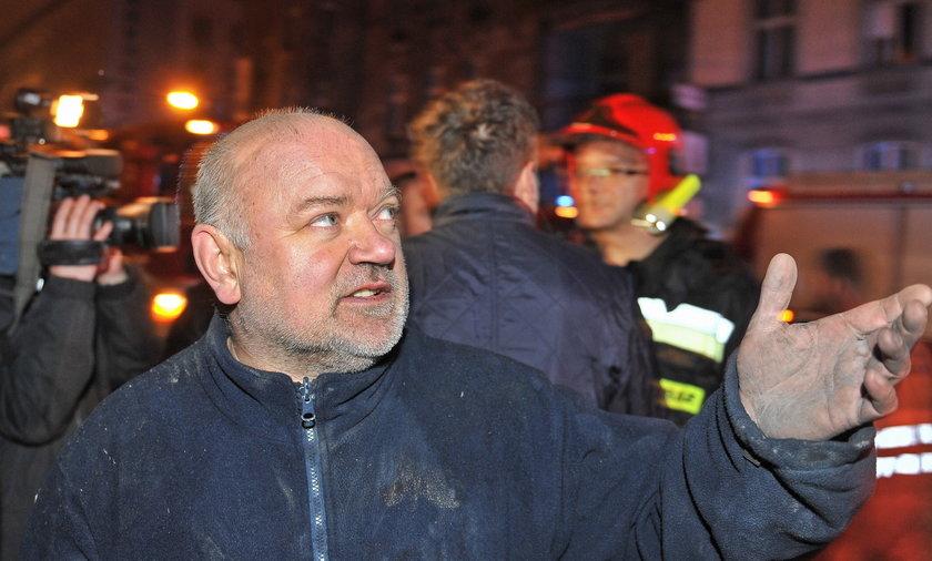Katowice. Wybuch gazu przy zbiegu ul. Sokolskiej i Chopina