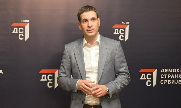 Miloš Jovanović, DSS