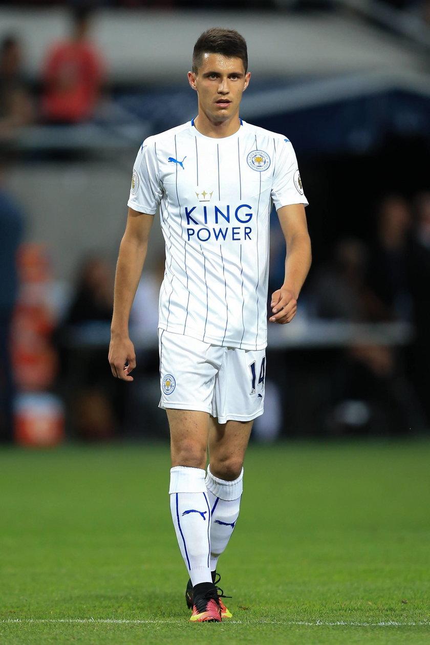 Bartosz Kapustka strzelił gola w meczu Leicester City z Chelsea