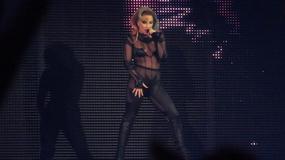 Lady Gaga na koncercie w Birmingham