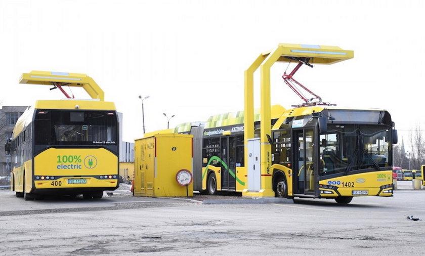 Zakup 43 autobusów elektrycznych dla województwa śląskiego. Na przełomie maja i czerwca 2021 roku w Katowicach w trasę wyjedzie pięć nowych autobusów elektrycznych