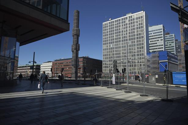 Sztokholm, Szwecja. 23.04.2020
