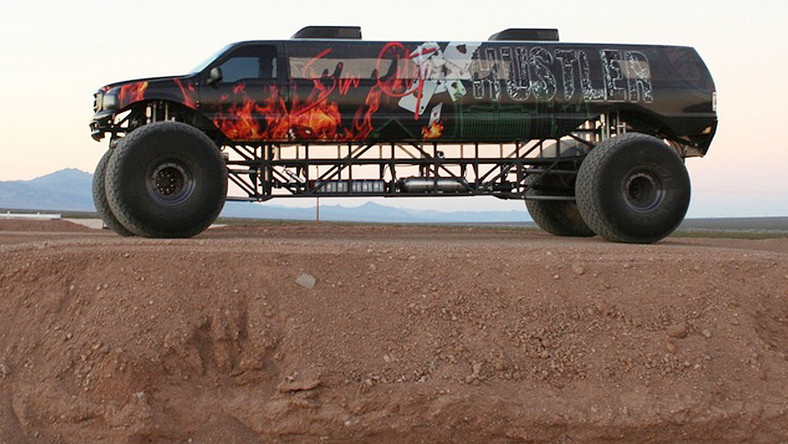 Sin City Hustler Monster Truck
