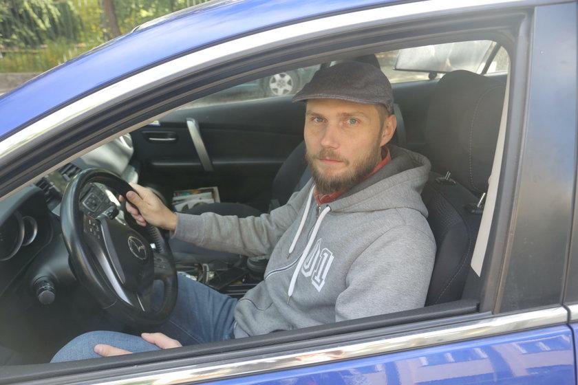 Dawid Szychowiak (37 l.), kierowca z Poznania