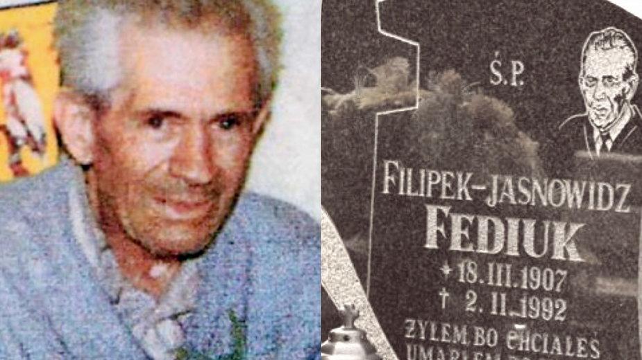 Jasnowidz Filipek Fediuk i jego grób w Starym Waliszowie