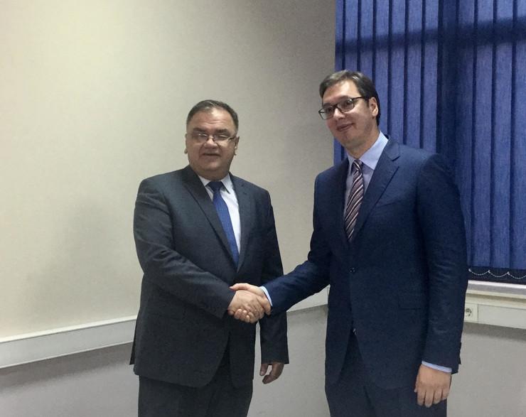 Vučić mostar Ivanić foto promo