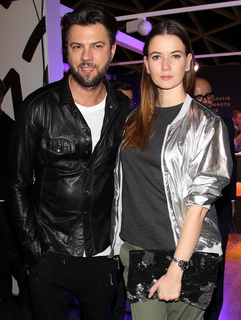 Olivier Janiak z żoną