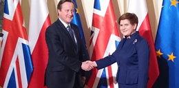 Premier David Cameron z wizytą w Polsce