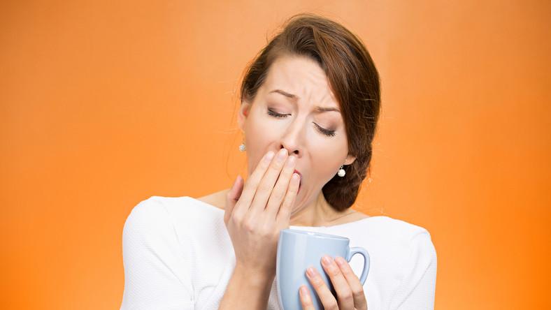 Przemęczenie może być objawem choroby.