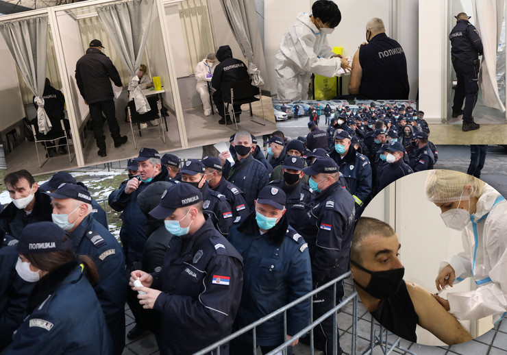 policija vakcina kombo RAS Mitar Mitrovic
