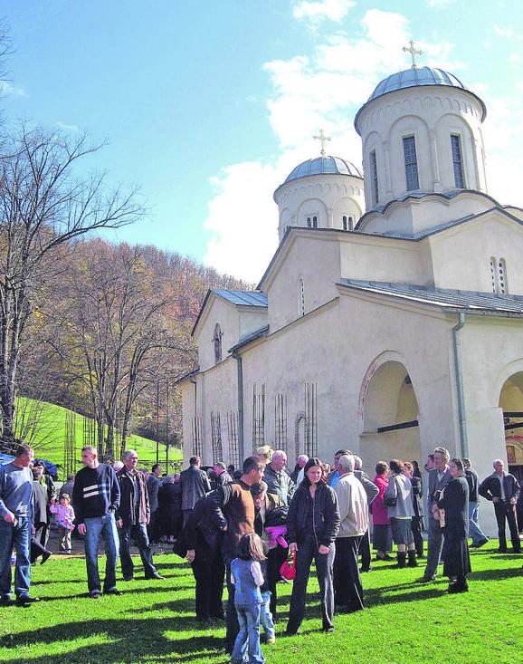 U manastiru Svetog Nikole pronađena četiri skeleta u Pribojskoj Banji