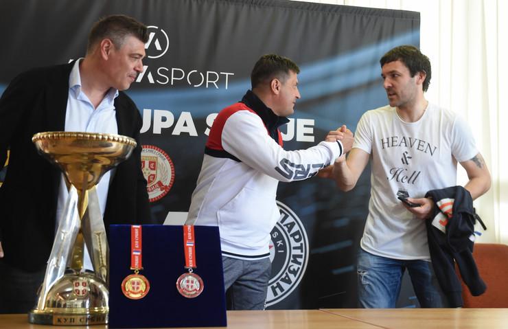 FK Crvena zvezda, FK Partizan, Kup